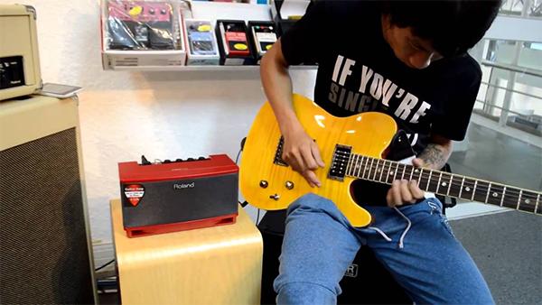 ampli cho guitar dien