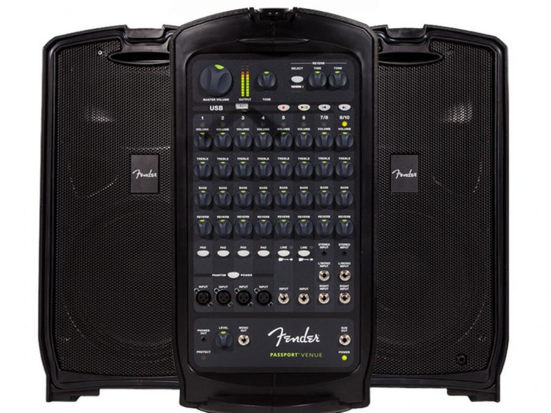 FENDER PASSPORT VENUE, 600 Watts, 230V EU DS bluetooth, loa di động, Fender, karaoke 2020