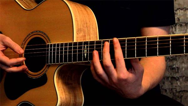 hoc guitar bat dau tu dau