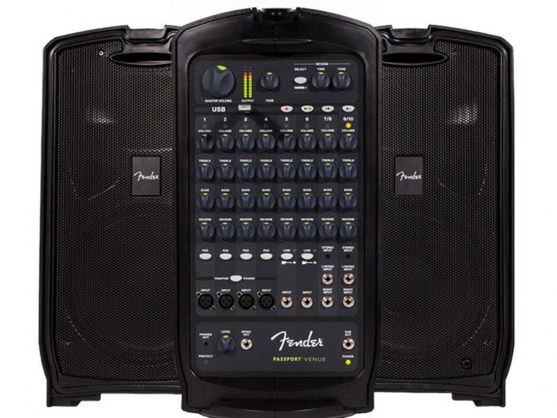 FENDER PASSPORT VENUE, 600 Watts, 230V EU DS bluetooth, loa di động, Fender, karaoke 2020